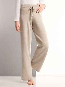cashmere - Casual trousers 100% cashmere