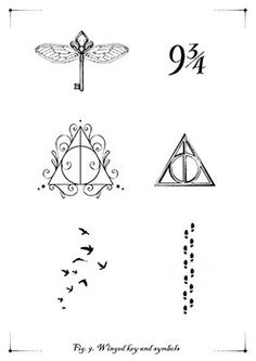 Discover recipes, home ideas, style inspiration and other ideas to try. Tiny Harry Potter Tattoos, Harry Tattoos, Harry Potter Symbols, Harry Potter Puns, Harry Potter Images, Harry Potter Drawings Easy, Snitch Tattoo, Hp Tattoo, Tattoo Quotes