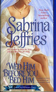 Sound advice from Sabrina Jeffries.