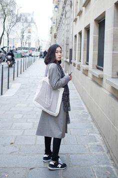 Winter Street Style - Korean