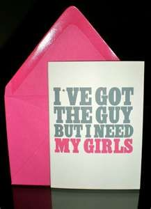 I've got the guy, but I need my girls