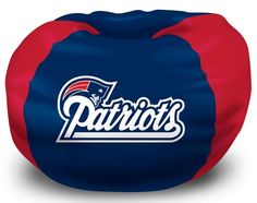 Use this Exclusive coupon code: PINFIVE to receive an additional 5% off the New England Patriots Bean Bag Chair $74.95 at SportsFansPlus.com