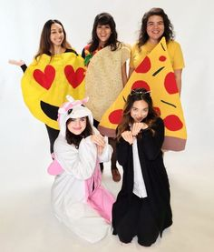Quick and easy costumes:  Emoji
