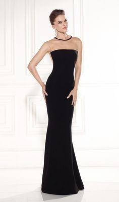 Fashionable Party Gowns O-Neck Long Black Formal Dress Vestidos Longos Plus Size Para Festa Mermaid Cheap Evening Dresses 2015