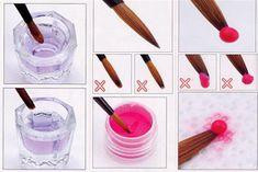 ocesia beauty & nail tips Acrylic Nail Supplies, Acrylic Nails At Home, Acrylic Nail Tips, Acrylic Nail Designs, Nail Tech School, School Nails, Pedicure Nail Art, Diy Nails, Fruit Nail Designs