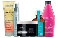 A lista de produtos essenciais para manter o cabelo loiro   MdeMulher