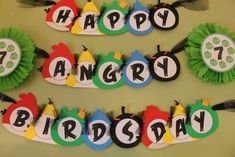 Angry Birds Birthday Party Ideas | Photo 2 of 92 | Catch My Party