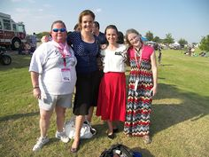 4th of July :D a recent convert Sis Carmikle on the left and Anna on the right is so willing to help all the time
