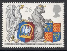 I've always had a soft spot for heraldry on stamps. I don't know why, it's probably to do with conjuring up images of a gloriously chivalro...
