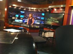 Weather segment with Kristen Cornett, 2013
