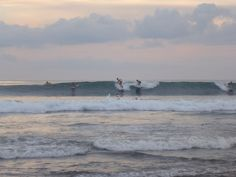 Surf at Batu Bolong beach, Canggu