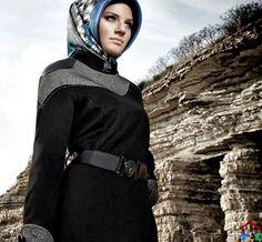 en güzel kışlık zühre pardesü modelleri Hijab Fashion, Dresses, Vestidos, Dress, Gown, Outfits, Dressy Outfits