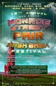 Poster Art from the 2013 Monroe Street Fair