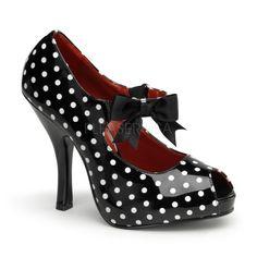 polka dot pumps
