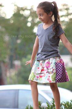 Sycamore Skirt - Sew Like My Mom