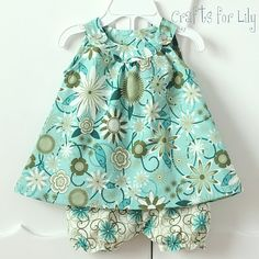 cute little girl clothes - Aimee, I thought this would be fun to make for C.  :)
