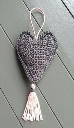 hart haken - crochet a heart
