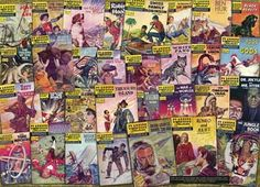 Atlantis Models 31 Classic Literary Comic Book 1000 piece puzzle. A collage of some of the more notable and popular Best Sellers. 31 different covers represented in full vibrant color.