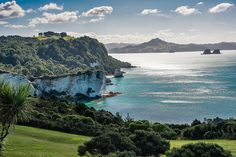 Hahei Lookout - Toward Cathedral Cove, New Zealand http://coromandelmotels.com/