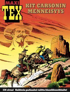 Kaikkien aikojen parhaaksi äänestetty Tex-seikkailu! Nyt lehtipisteissä! #TexWiller #sarjisparhaus #Western