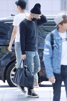 BTS AIRPORT FASHION — bangtan:    © BAEKSEOLGI | Do not edit.