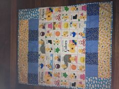 Another baby boy quilt I made- loving Spot