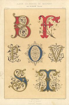 French 1882 Letters by pilllpat (agence eureka), via Flickr