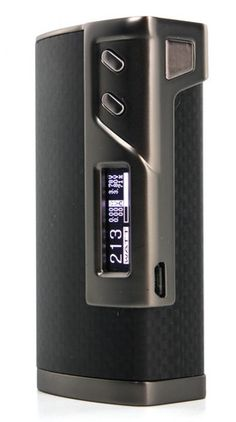 213W TC Box Mod- introduces powerful new features and industry leading advancement in material and design. Introducing TFR and TCR brings vaping in temperature control to new heights for even more precise vaping. Reinforced with soft touch carbon fiber and aluminum space frame trimming, not only does this mod look and feel nice, but it also is sturdy and lightweight. Available NOW at www.fugginvapor.com