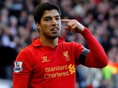 Luis Suarez: Liverpool/ Uruguay