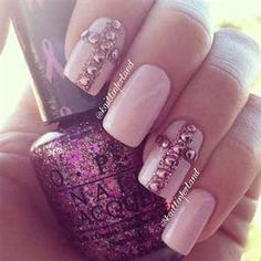Cross nail design
