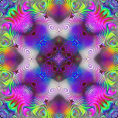 Discover & share this roberthruska GIF with everyone you know. GIPHY is how you search, share, discover, and create GIFs. Optical Illusion Gif, Illusion Art, Optical Illusions, Trippy Pictures, Colorful Pictures, Fractal Geometry, Psychedelic Colors, Medicine Wheel, Rainbow Wallpaper