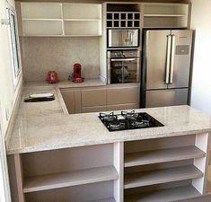 New kitchen furniture mdf woods 36 ideas Kitchen Room Design, Kitchen Sets, Home Decor Kitchen, Kitchen Furniture, Kitchen Interior, New Kitchen, Home Kitchens, Furniture Stores, Small Apartments