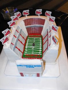 DWR Razorback Stadium This would be awesome, too, but we'd never need this much cake.