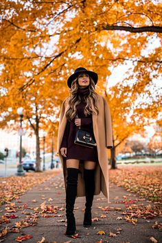 5 Reasons Why I Buy Designer Handbags - Mia Mia Mine Winter Mode Outfits, Casual Fall Outfits, Winter Fashion Outfits, Look Fashion, Autumn Winter Fashion, Stylish Outfits, Cute Outfits, Womens Fashion, Fall Skirt Outfits