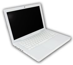 White MacBook This is a great piece to own