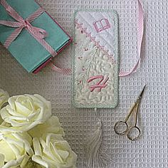 Crazy Patch Bookmark - Free Instant Machine Embroidery Designs