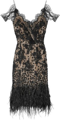 Oscar black lace