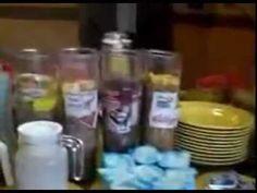 Vídeo del Desayuno buffet que ofrecemos a todos nuestros clientes por tan solo 4€ persona.