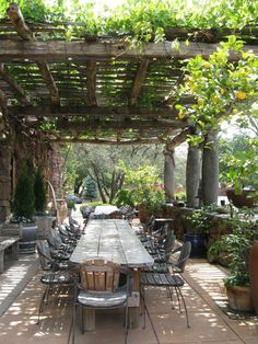 33 Pergola Ideas to Keep Cool This Summer # Patio Cover # rensonou . - Design - 33 pergola ideas to stay cool this summer # terrace covering - Rustic Pergola, Backyard Pergola, Pergola Plans, Pergola Kits, Backyard Landscaping, Landscaping Ideas, Patio Ideas, Pergola Roof, Backyard Ideas