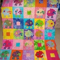 Quilting : Scrap Bin Sheep, by Red Boots
