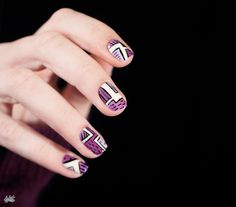 Nail art Geometric Pattern