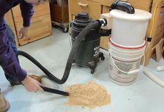 Building the two-bucket cyclone - woodgears.ca