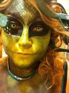 Medusa Costume Makeup | Medusa This was my Halloween costume last year... MEDUSA. The head ...