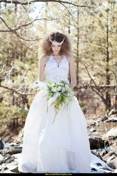 Enchanted Bridal Shoot - http://www.trend-hairstyles.com/hairstyle-ideas-2/enchanted-bridal-shoot.html
