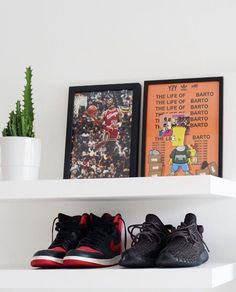 "1,080 Me gusta, 11 comentarios - Kurt Art (@kurt_art) en Instagram: "". Jumpman or Yeezy ? by @dericktobias"""