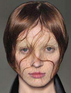 Olga Sherer at Alexander McQueen S/S 2009