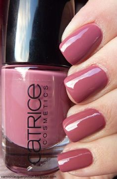 For the Love of Lacquer: [Swatch] Catrice - Welcome To Roosywood (Lacke in Farbe ...und bunt!)