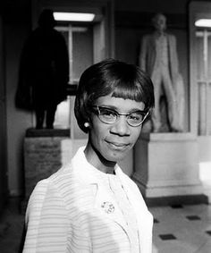 Shirley Chisolm - 1st African American woman to run for President