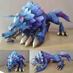 Papercraft League of Legends Wolf Build Photos | Tektonten Papercraft