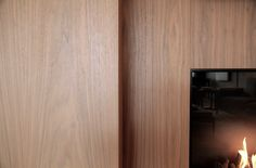 Detail apartment Knokke-Heist in walnut I Deco-Lust